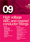 high voltage ABC and covered conductor fittings
